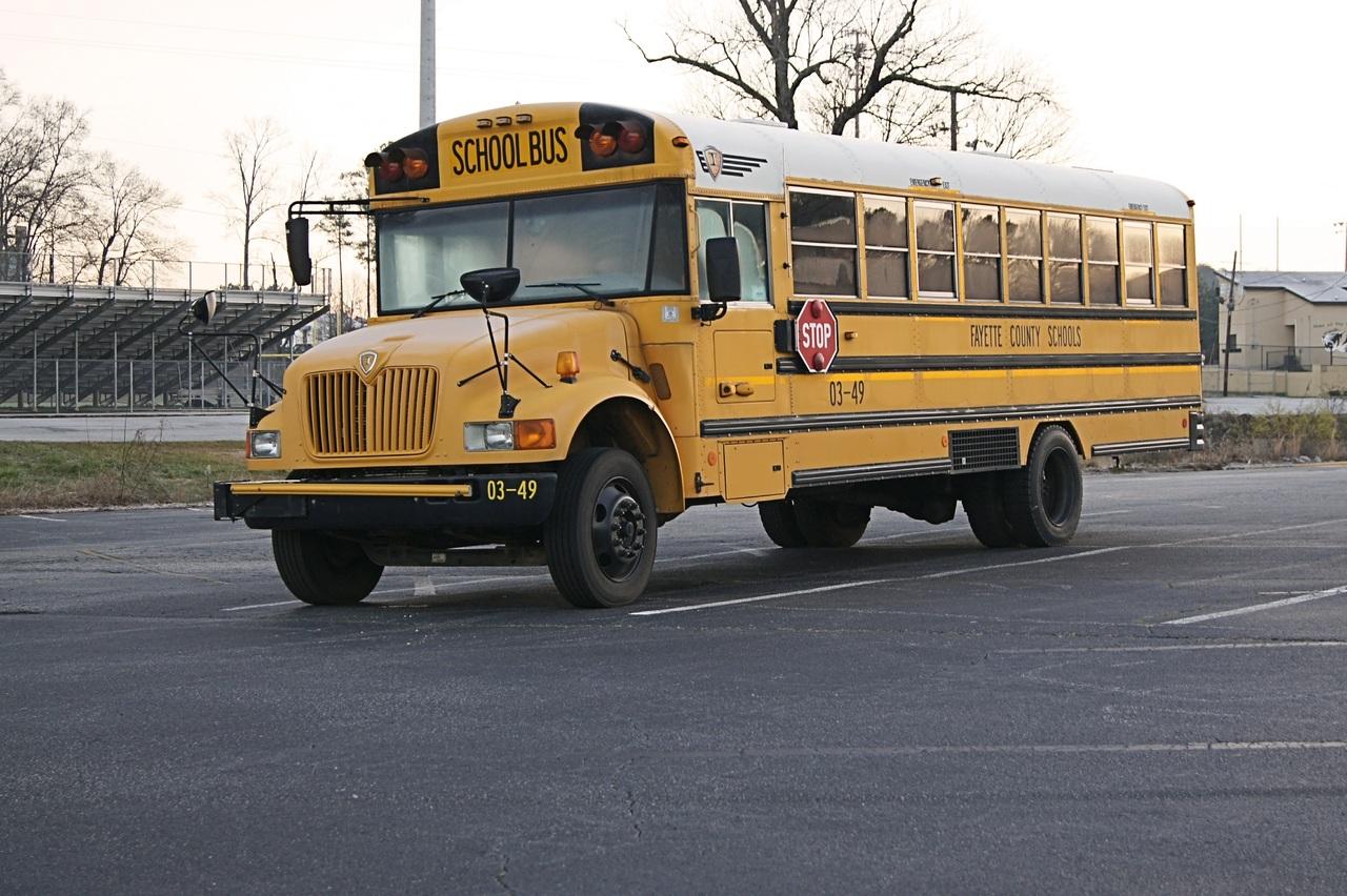 'Somebody threatened to burn the school down' 18 old city urban asphalt transport vehicle 767783
