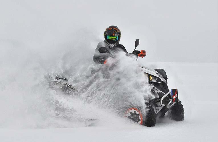 Woods has belief in 15th major win 1 winter schnee atv Quad Motorsport snow snowmobile 1418183