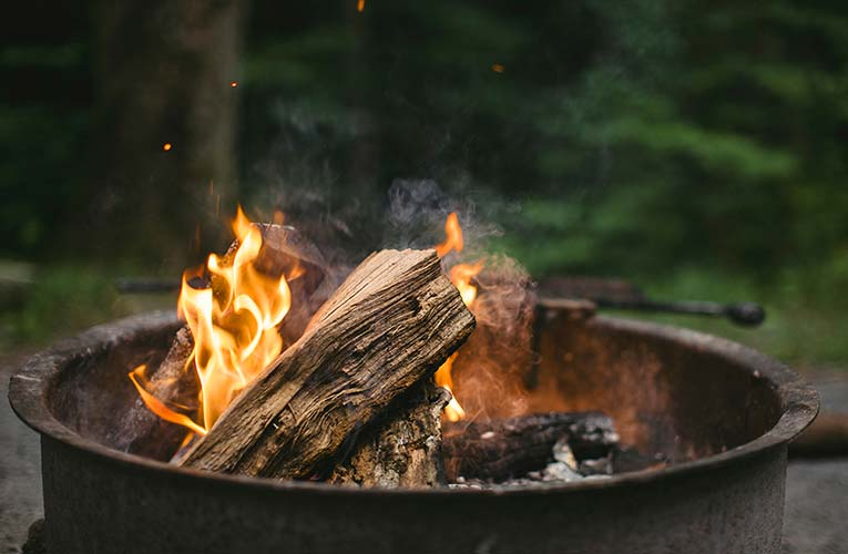 Middle classes losing out to ultra-rich 24 wood log fire campfire meat barbecue 59019