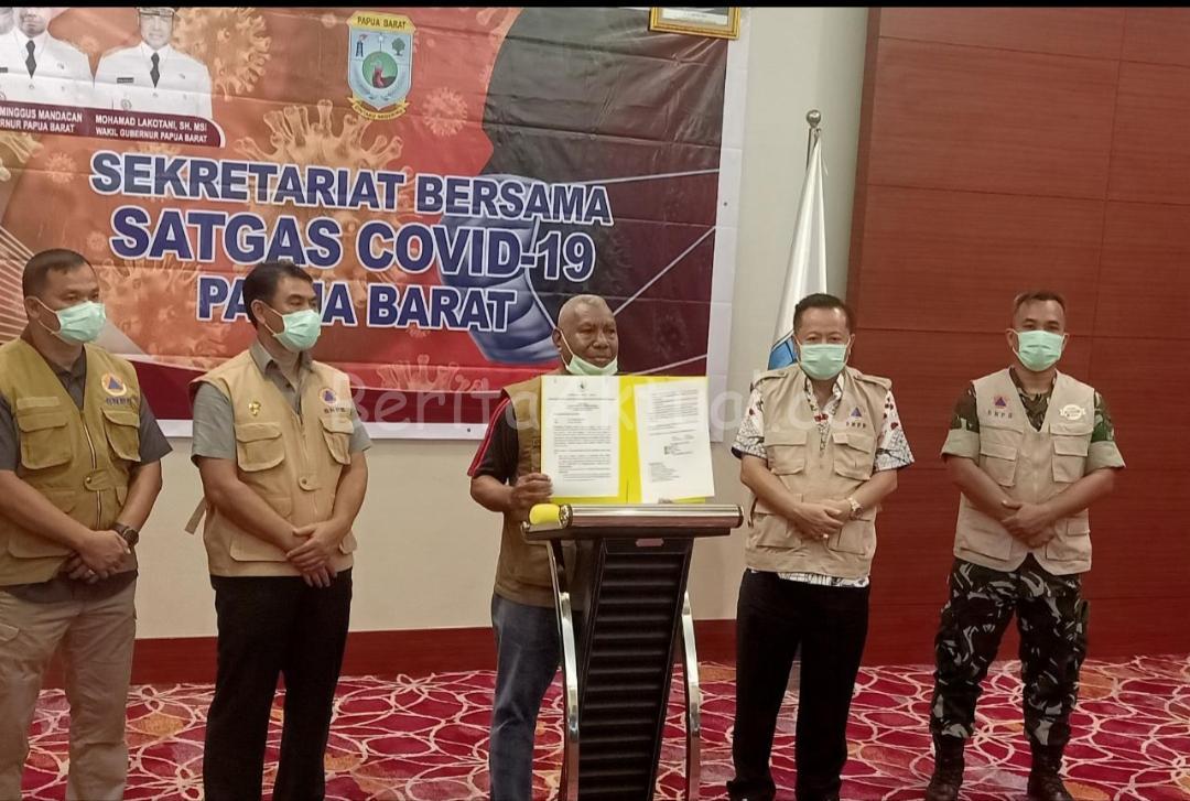 Status Papua Barat Naik Jadi Tanggap Darurat Covid-19, Warga Dilarang Bepergian Selama 2 Pekan 17 20200328 012323