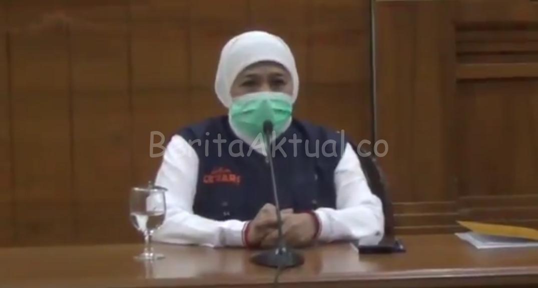 """Gubernur Khofifah Imbau Warga Jatim di Perantauan """"Jangan Mudik"""" 1 20200329 171013"""