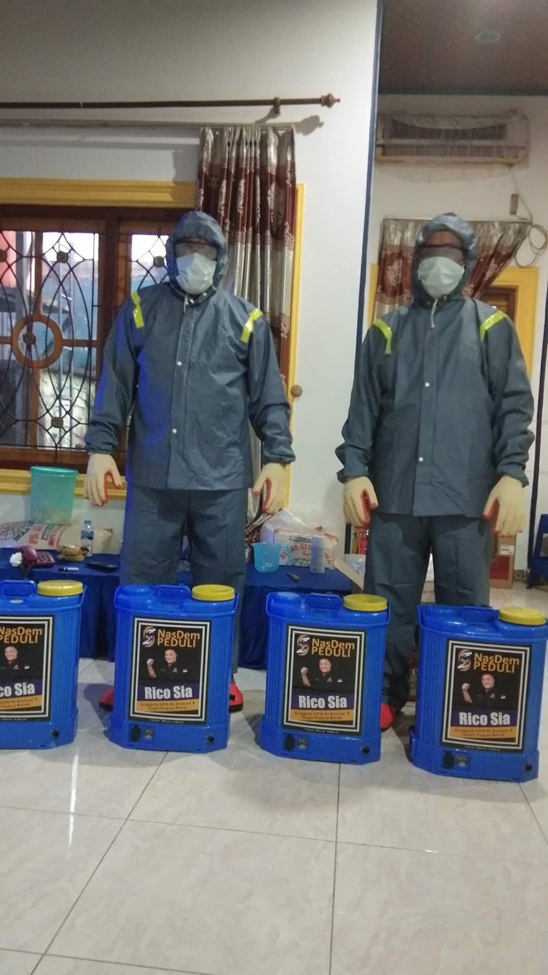 Aksi Nyata, Selasa Besok Sahabat Rico Sia Semprotkan Disinfektan ke Rumah Ibadah 1 FB IMG 1584960305419