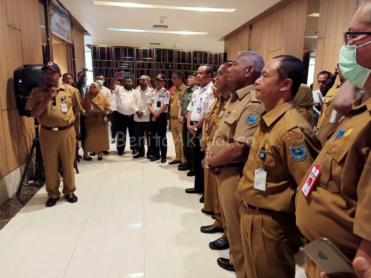 Gubernur Mandacan Nyatakan Papua Barat Siaga Darurat Virus Corona 1 IMG 20200316 WA0017