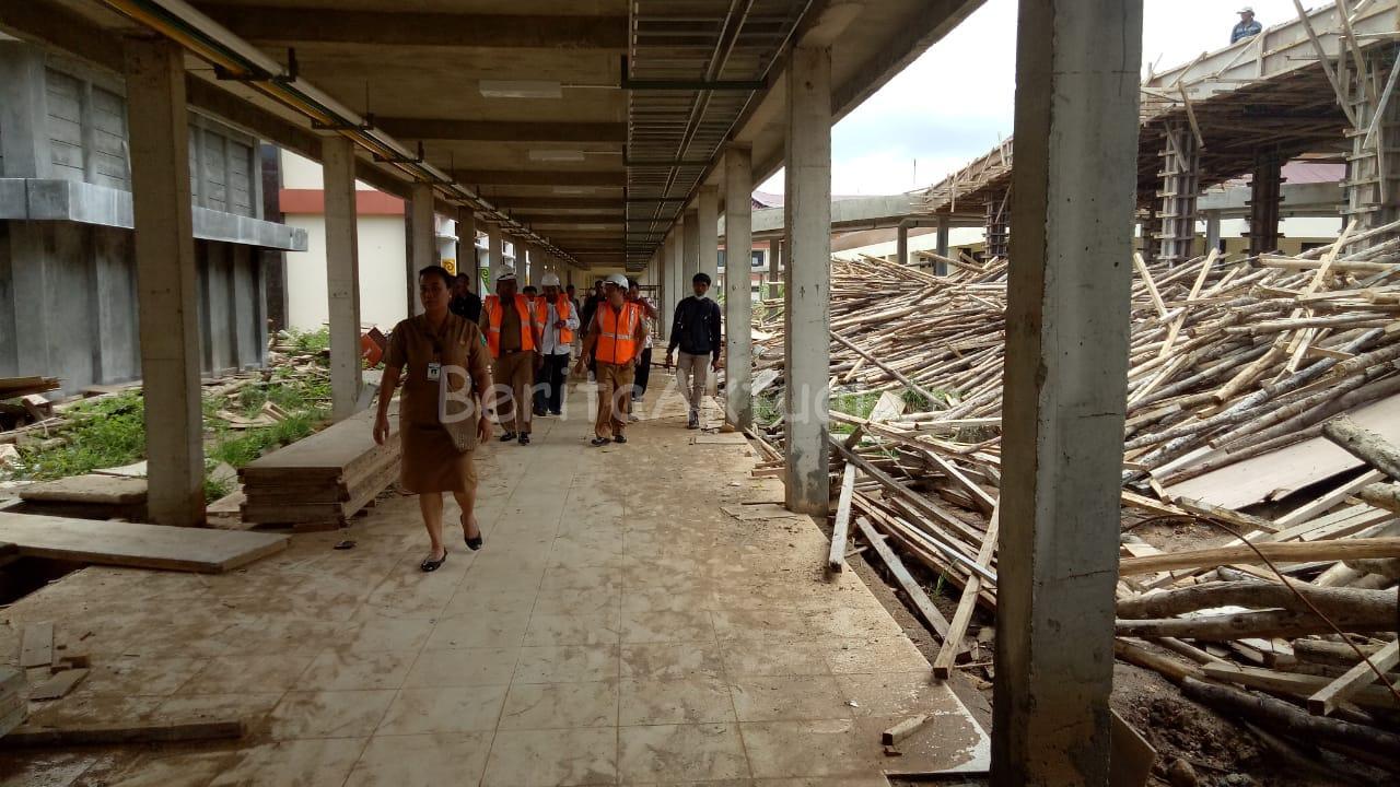 Pantau Kesiapan RSUD Manokwari, Mandacan: Fasilitas Harus Siap Jika Pasien Terinfeksi Corona Membludak 2 IMG 20200316 WA0027
