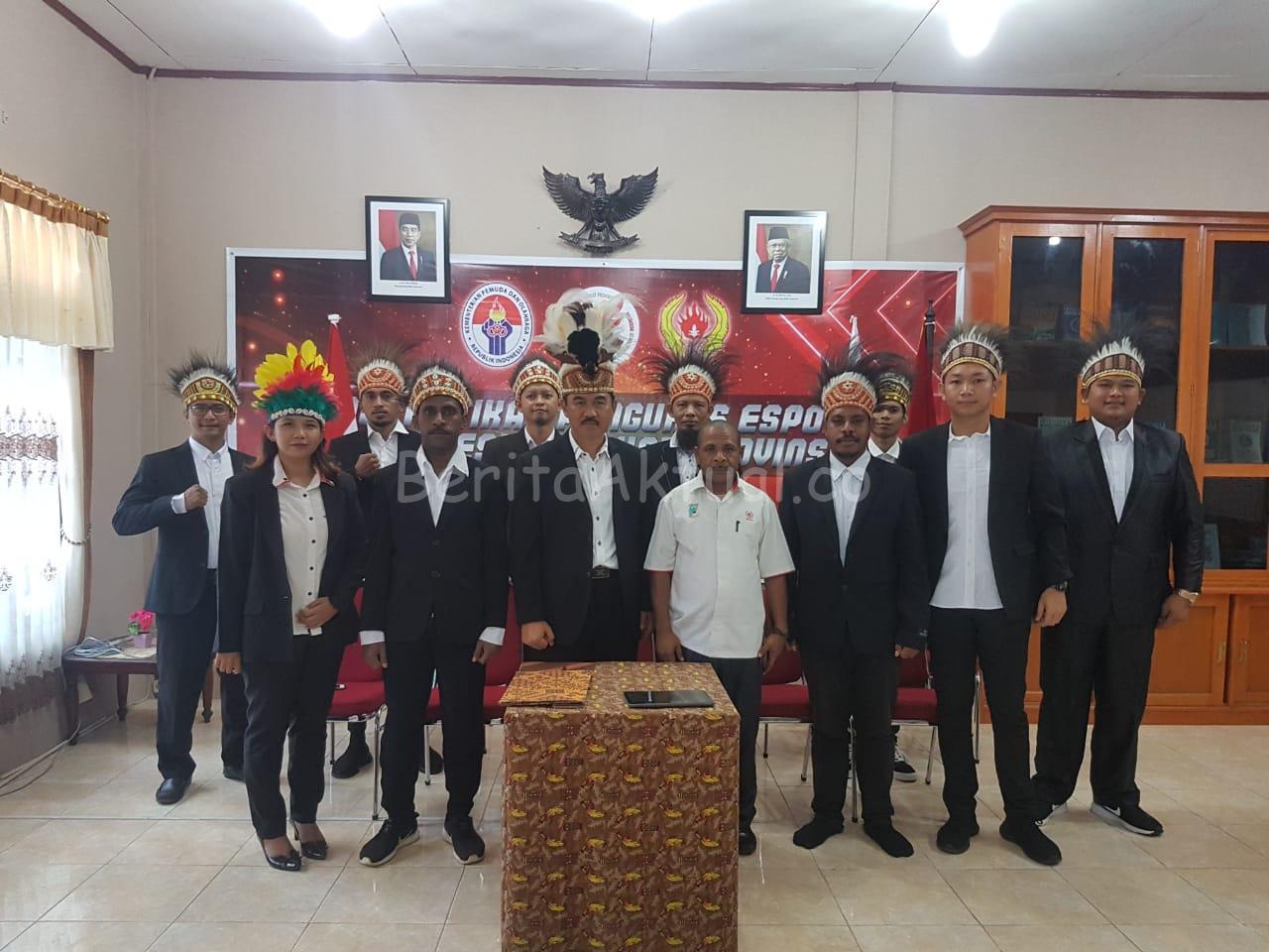Pertama di Indonesia, Pengurus Esport Papua Barat Dilantik Serentak Secara Virtual 2 IMG 20200316 WA0033