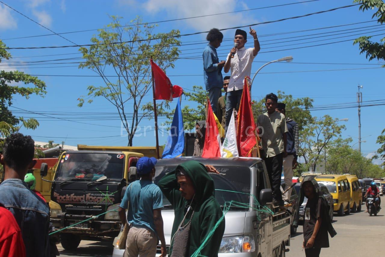 Mahasiswa di Sorong Lakukan Aksi Tolak RUU Omnibus Law 1 IMG 20200316 WA0036