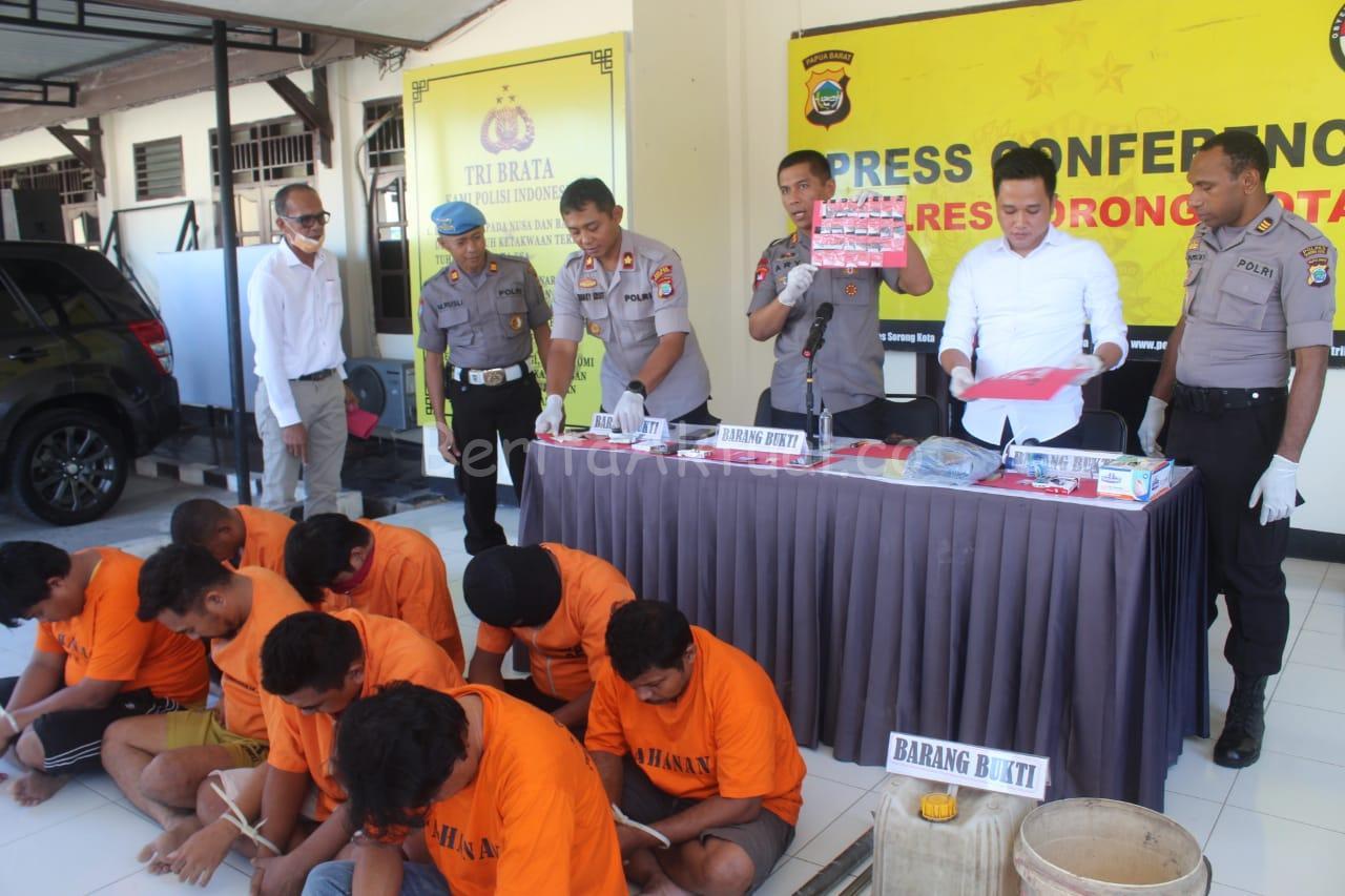 Polisi Tangkap Napi Dan Sipir Jaringan Narkoba Lapas Sorong 1 IMG 20200317 WA0003