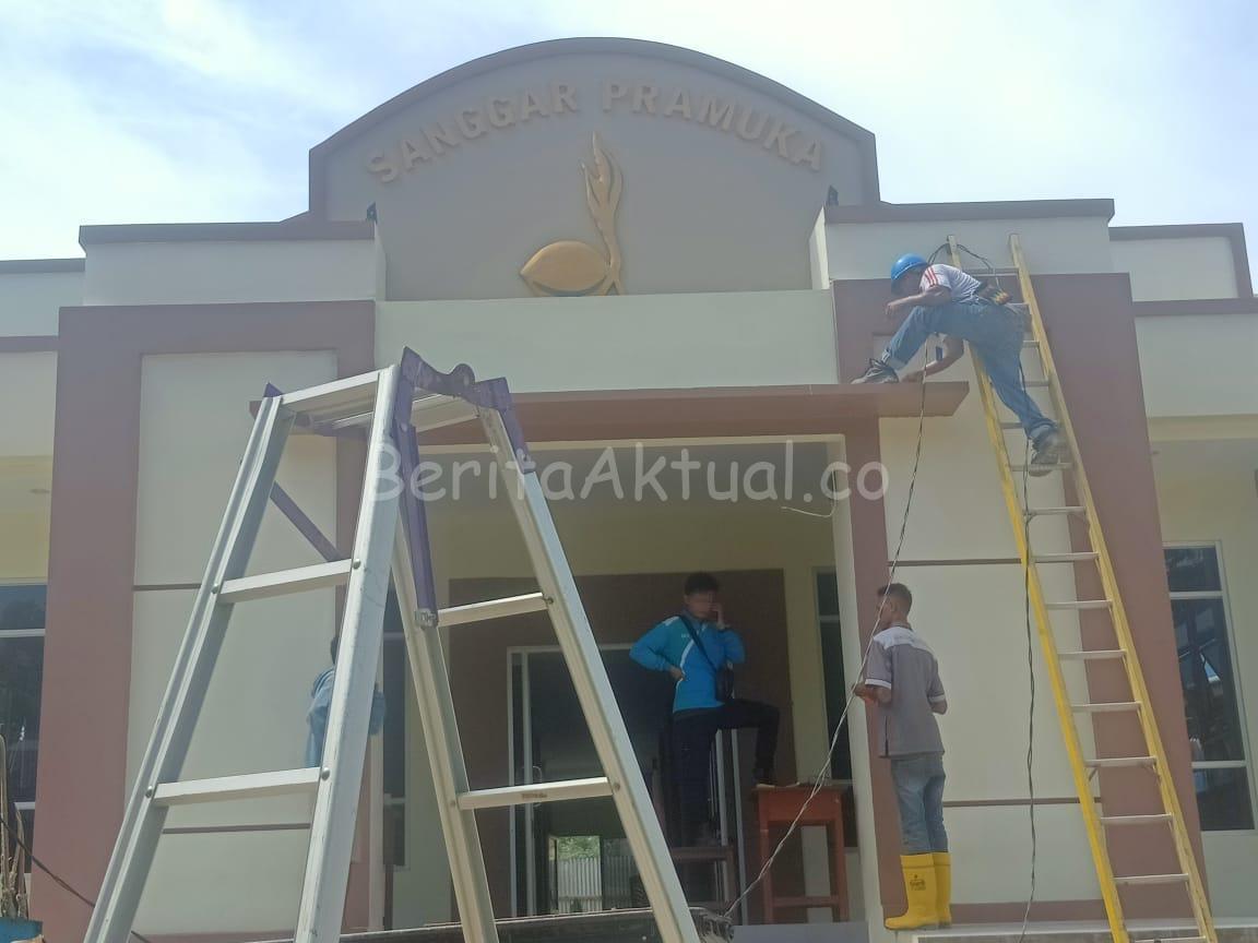 Rico Sia Realisasikan Janji ke Pramuka Kwarcab Sorong 3 IMG 20200320 WA0049