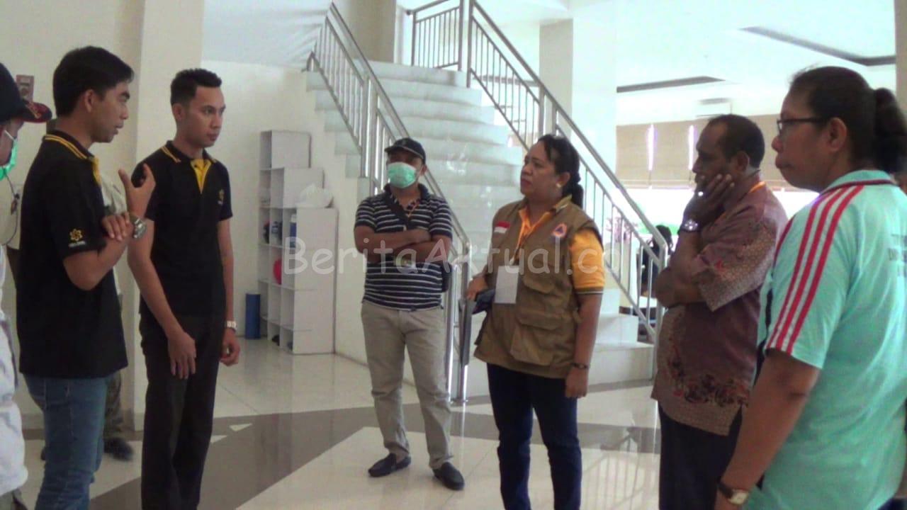 Cegah Covid-19, Tim Satgas Lakukan Sidak ke Sejumlah Hotel di Sorong 1 IMG 20200321 WA0090