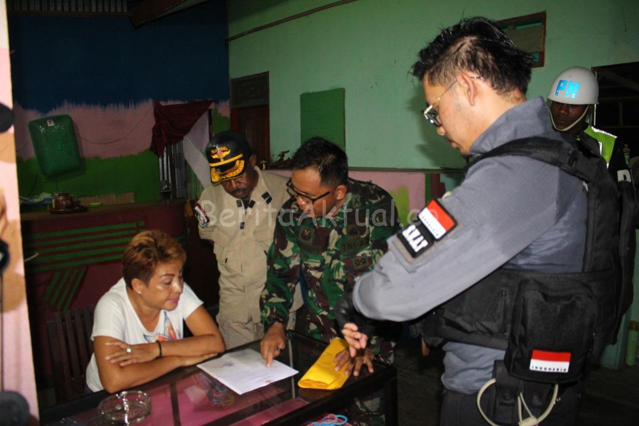 Pastikan THM Tutup, Tim Gabungan TNI-Polri Dan Satpol PP Manokwari Lakukan Patroli 2 IMG 20200322 WA0015