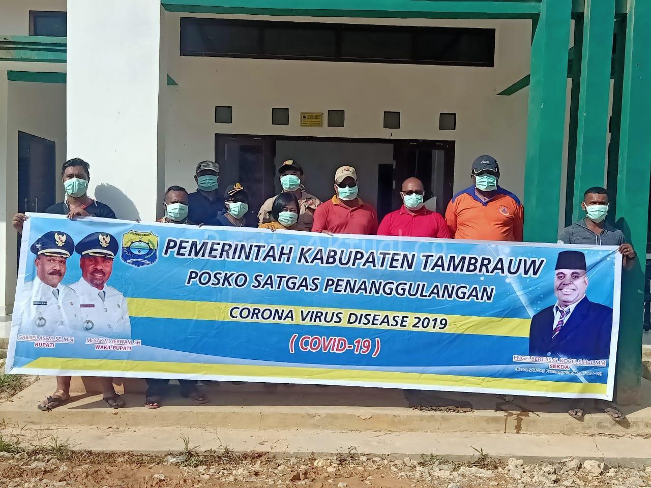 Sekda Kocu: Cegah Corona Masuk Tambrauw, Pintu Perbatasan Akan Dijaga Ketat 2 IMG 20200329 WA0008