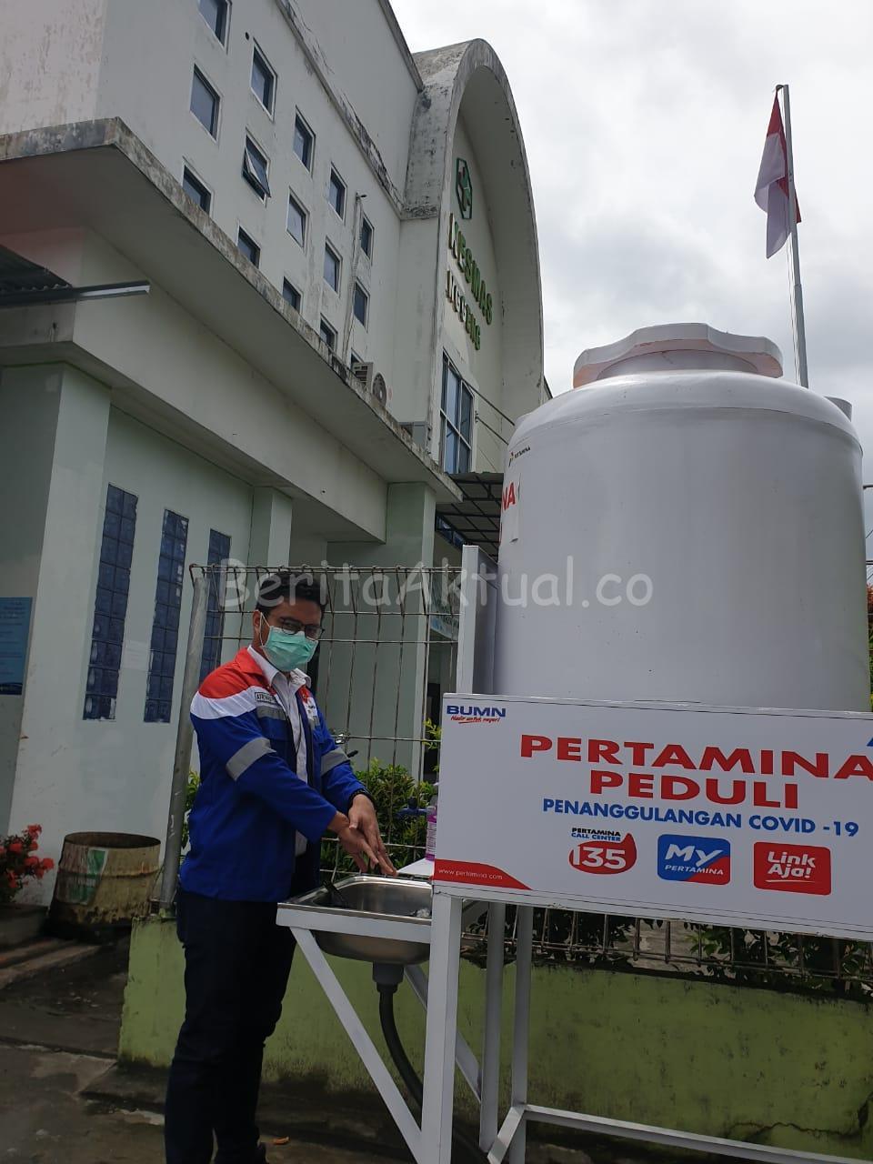 Bantu Pemerintah Cegah Corona, Pertamina Salurkan 300 Paket Bantuan di Manokwari 2 IMG 20200331 WA0058