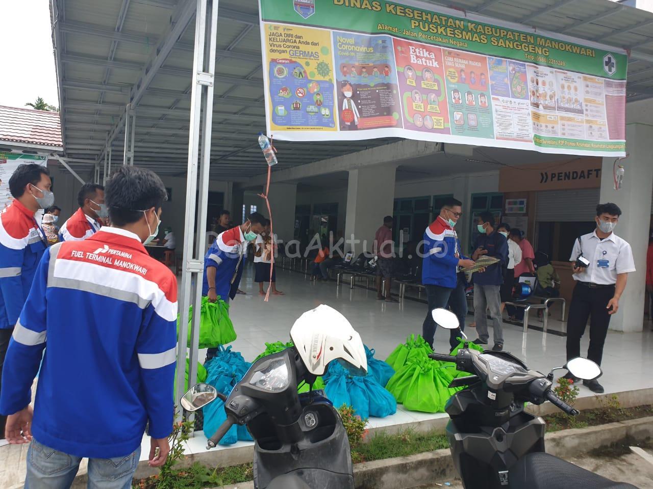 Bantu Pemerintah Cegah Corona, Pertamina Salurkan 300 Paket Bantuan di Manokwari 16 IMG 20200331 WA0062