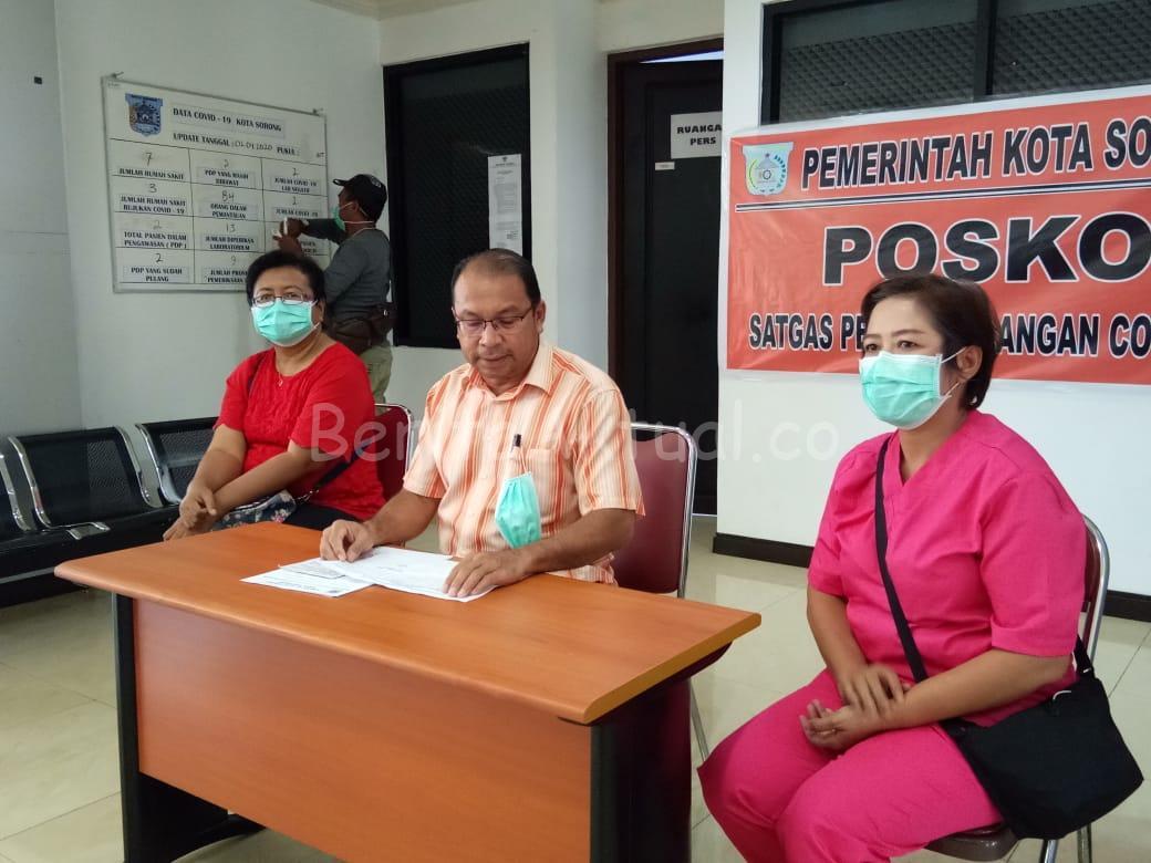 Kabar Baik, Pasien Positif Corona di Kota Sorong Berangsur Pulih 16 IMG 20200402 WA0088