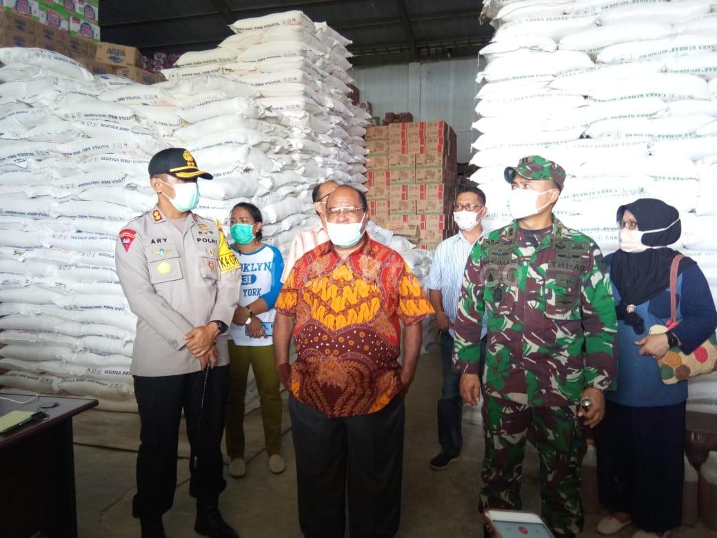 Walikota Jamin Stok Bapok di Sorong Aman Hingga 6 Bulan Kedepan 1 IMG 20200403 WA0006