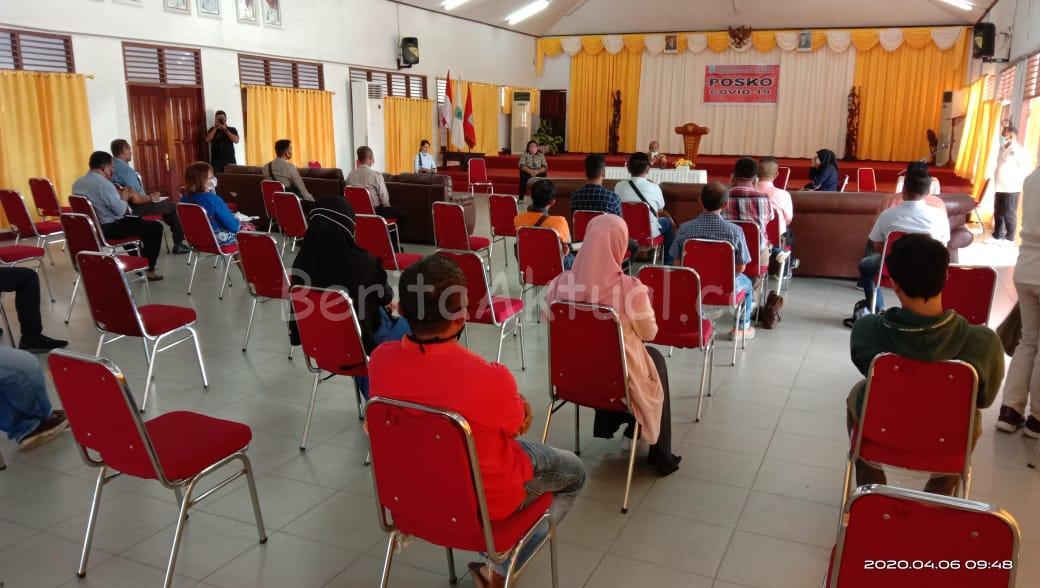 Walikota Sorong Imbau Warga Jaga Kesehatan, Distributor Stop Main Harga 2 IMG 20200406 WA0042