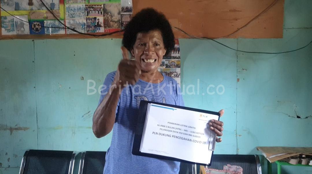 PLN Papua Dan Papua Barat Beri Stimulus Listrik Gratis Kepada 121.394 Pelanggan 1 IMG 20200408 WA0087