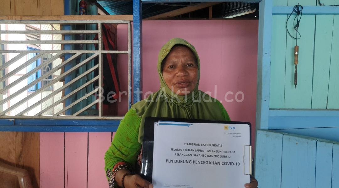 PLN Papua Dan Papua Barat Beri Stimulus Listrik Gratis Kepada 121.394 Pelanggan 2 IMG 20200408 WA0088
