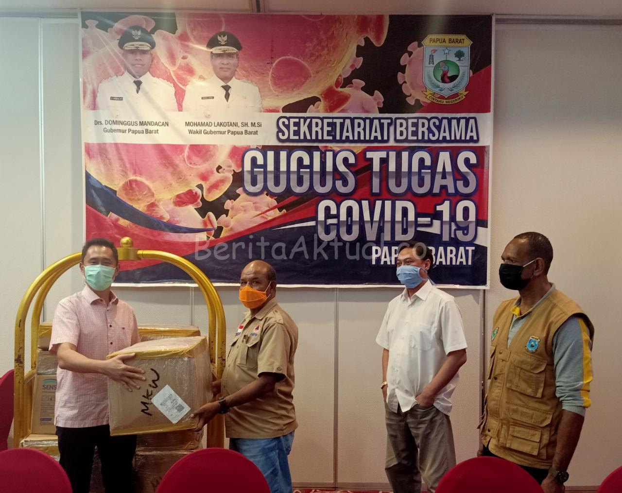 Gugus Tugas Covid-19 Papua Barat Dapat Bantuan Dari Petrotekno Bintuni 3 IMG 20200411 WA0044