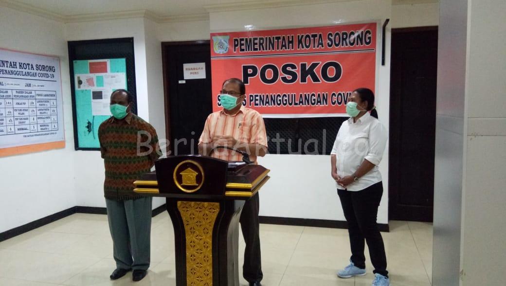 Pasien Positif Covid-19 di Kota Sorong Bertambah 3, Total 8 Orang 1 IMG 20200427 WA0045
