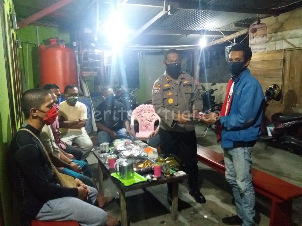 Komunitas Pecinta Polri Manokwari Bagi 30 Ribu Masker Kain Untuk Masyarakat 17 IMG 20200428 WA0072