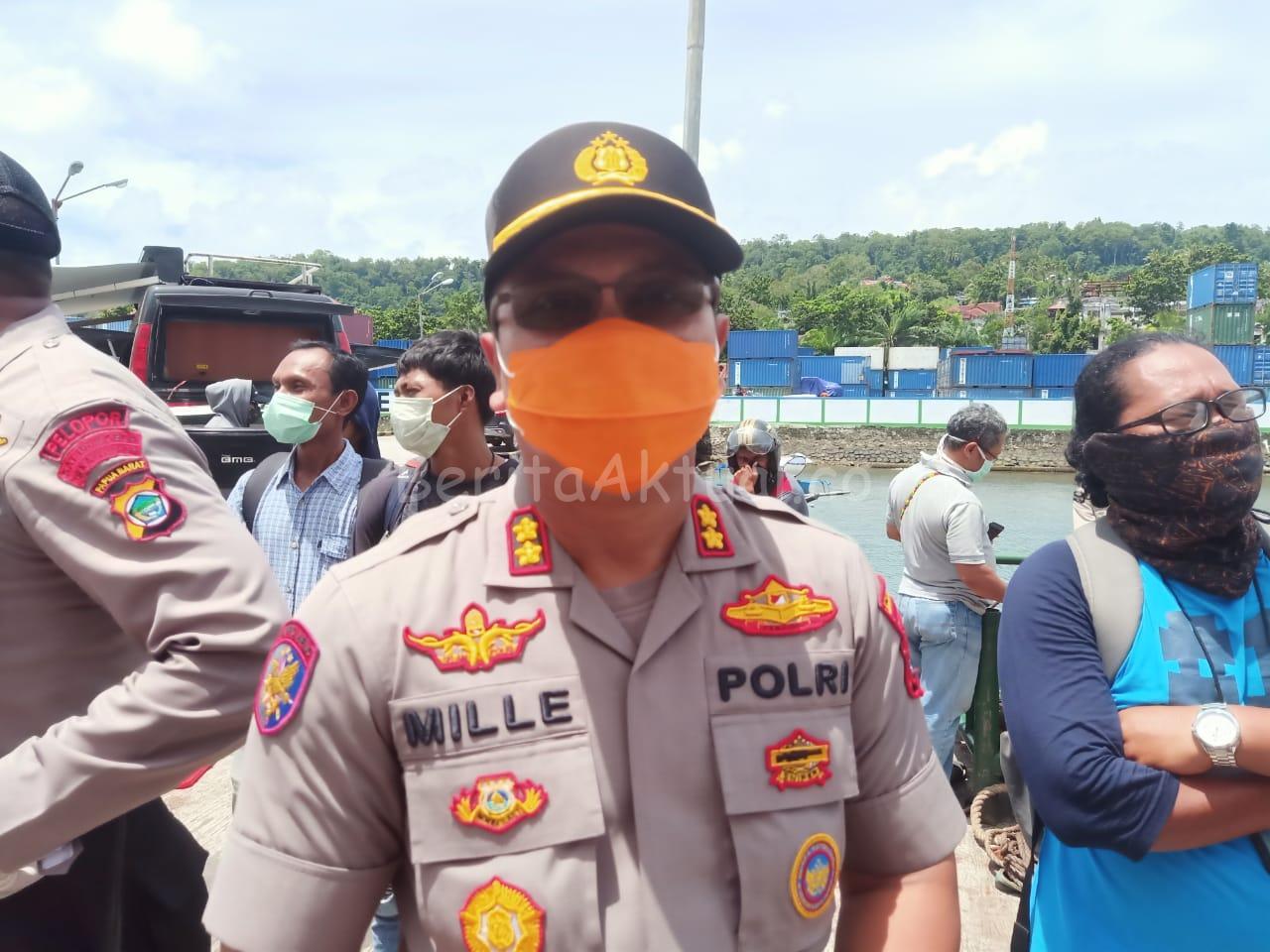 Kapolres Manokwari Dimutasi ke Lumajang Polda Jawa Timur 1 IMG 20200501 WA0044