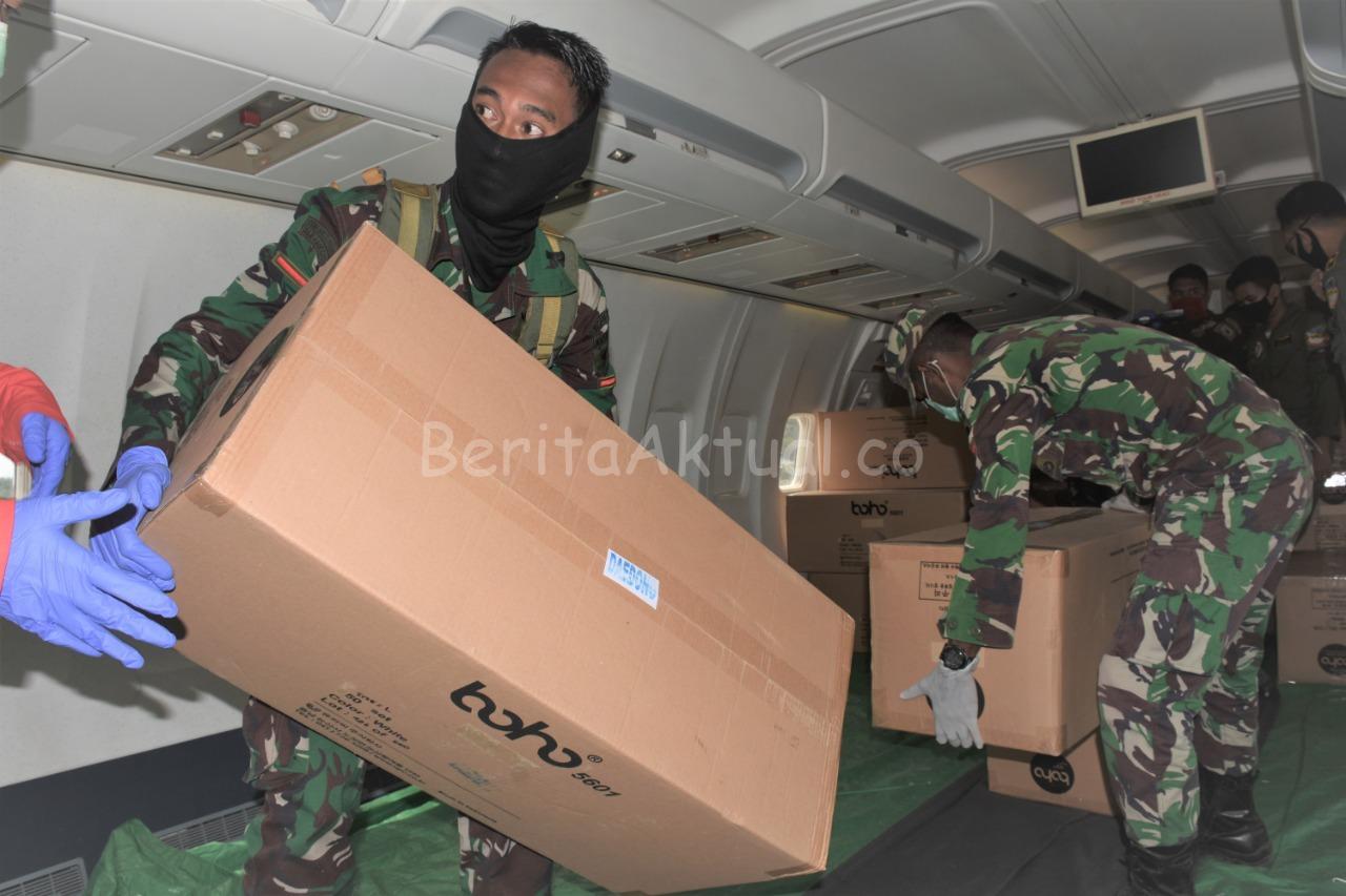 Lagi, Kodam XVIII/Kasuari Terima 46 Koli APD Untuk Papua Barat Dari Gugus Tugas Nasional 2 IMG 20200501 WA0087