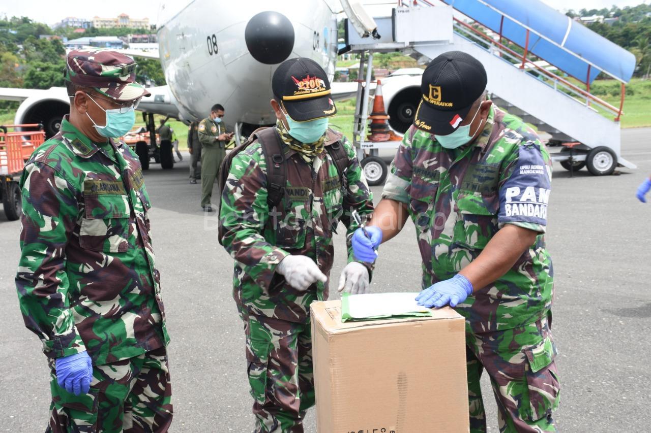 Lagi, Kodam XVIII/Kasuari Terima 46 Koli APD Untuk Papua Barat Dari Gugus Tugas Nasional 4 IMG 20200501 WA0088