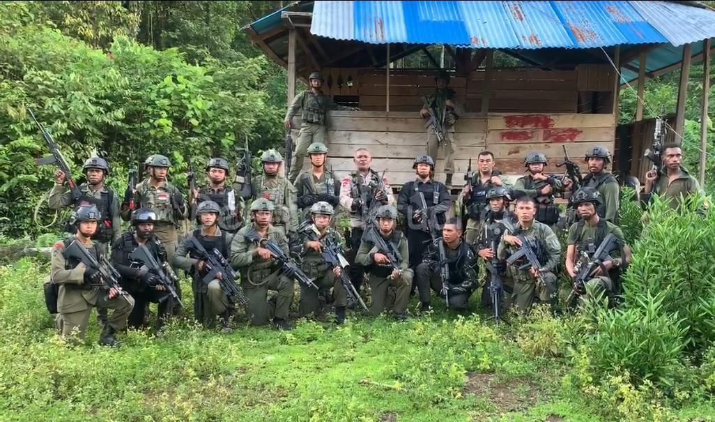 Dansat Brimob Polda PB Tegaskan Operasi di Maybrat Kejar Pelaku Pembunuhan Bukan Militer 1 IMG 20200506 WA0027