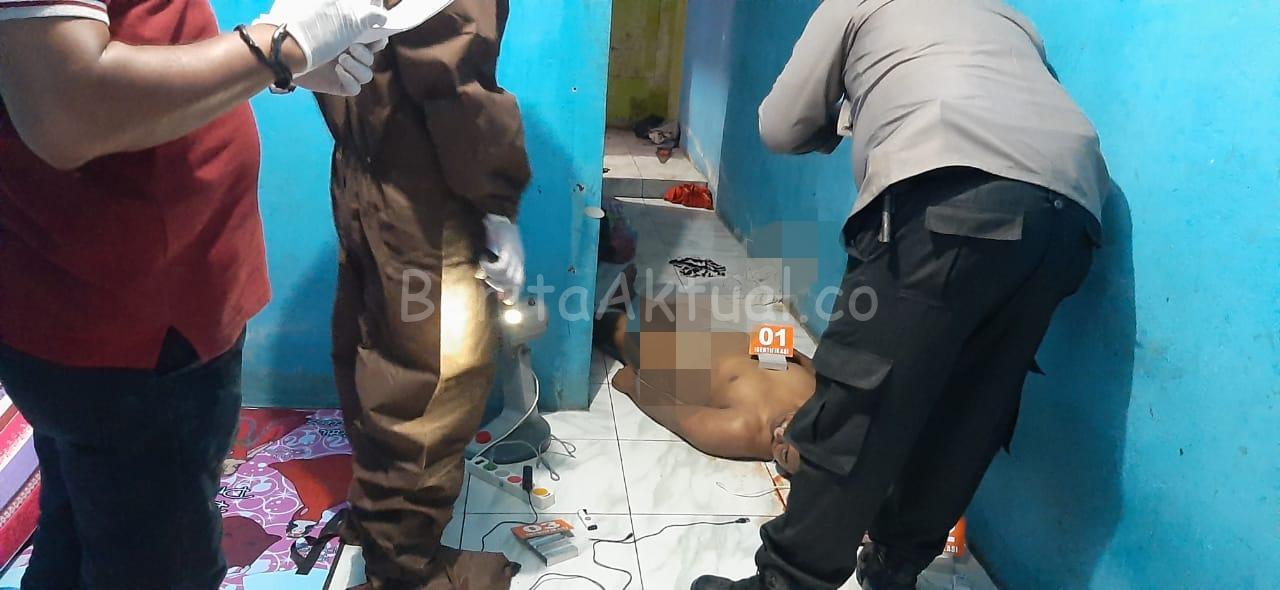 Tukang Ojek Ditemukan Meninggal Dalam Kamar Kosnya di Lembah Hijau 7 IMG 20200510 WA0046
