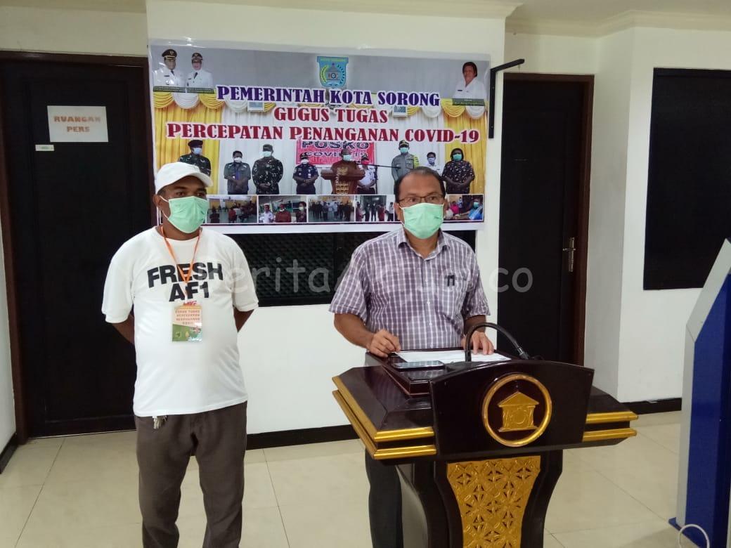 Gugus Tugas Covid-19 Kota Sorong Kirim 70 Sampel ke Balitbangkes Makassar 4 IMG 20200514 WA0012
