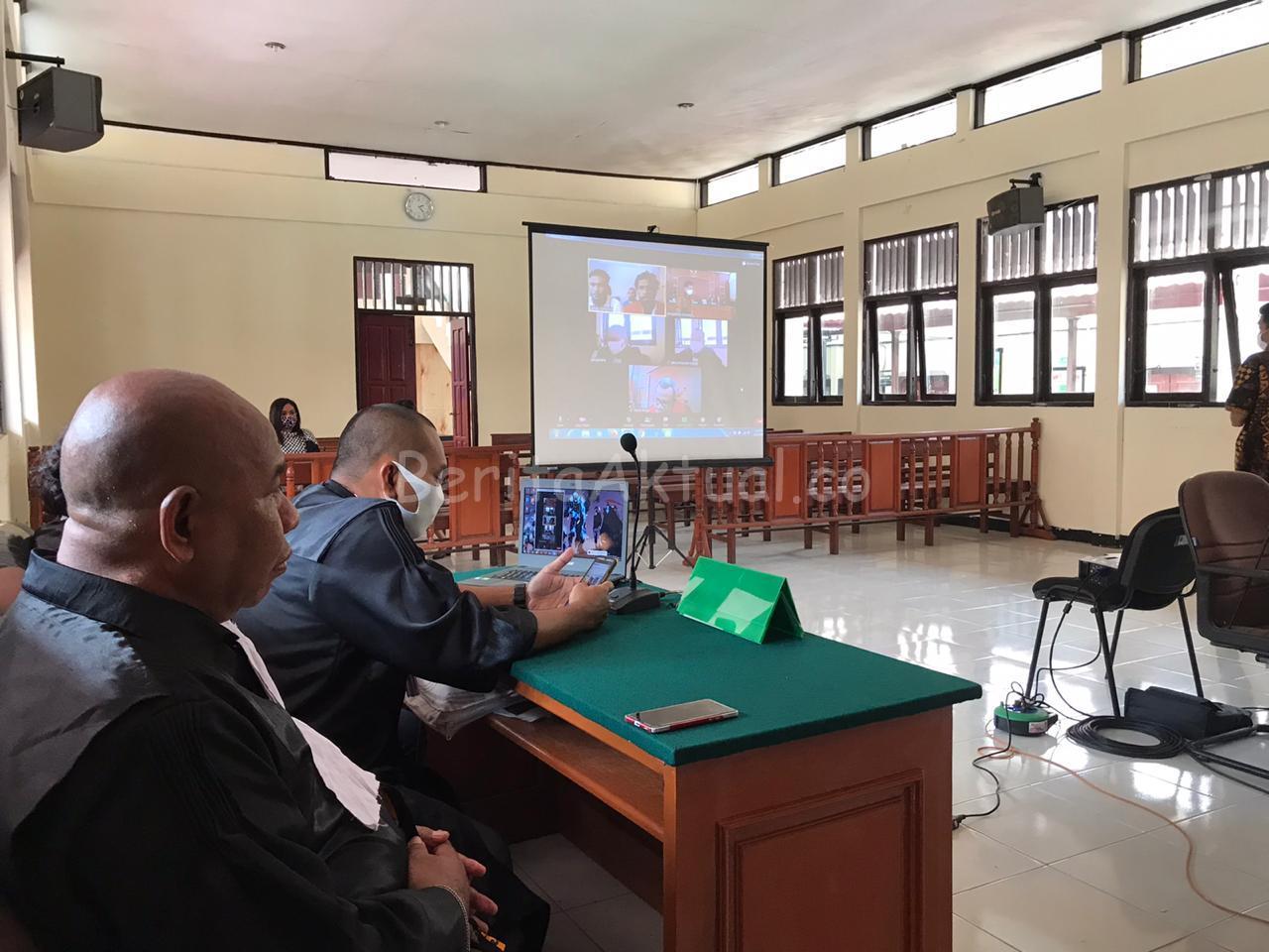 Terbukti Bersalah, 4 Terdakwa Makar di Sorong Divonis 8 Bulan 15 Hari 7 IMG 20200528 WA0131