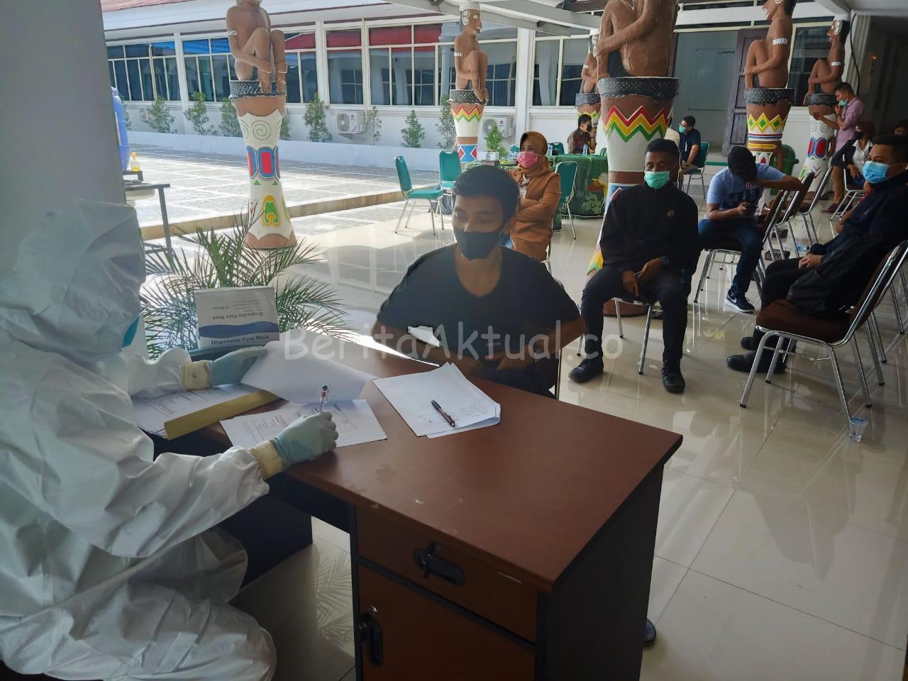 Hari Kedua, Kejati Papua Barat Buka Pemeriksaan Swab Gratis Untuk Masyarakat 2 IMG 20200612 WA0033