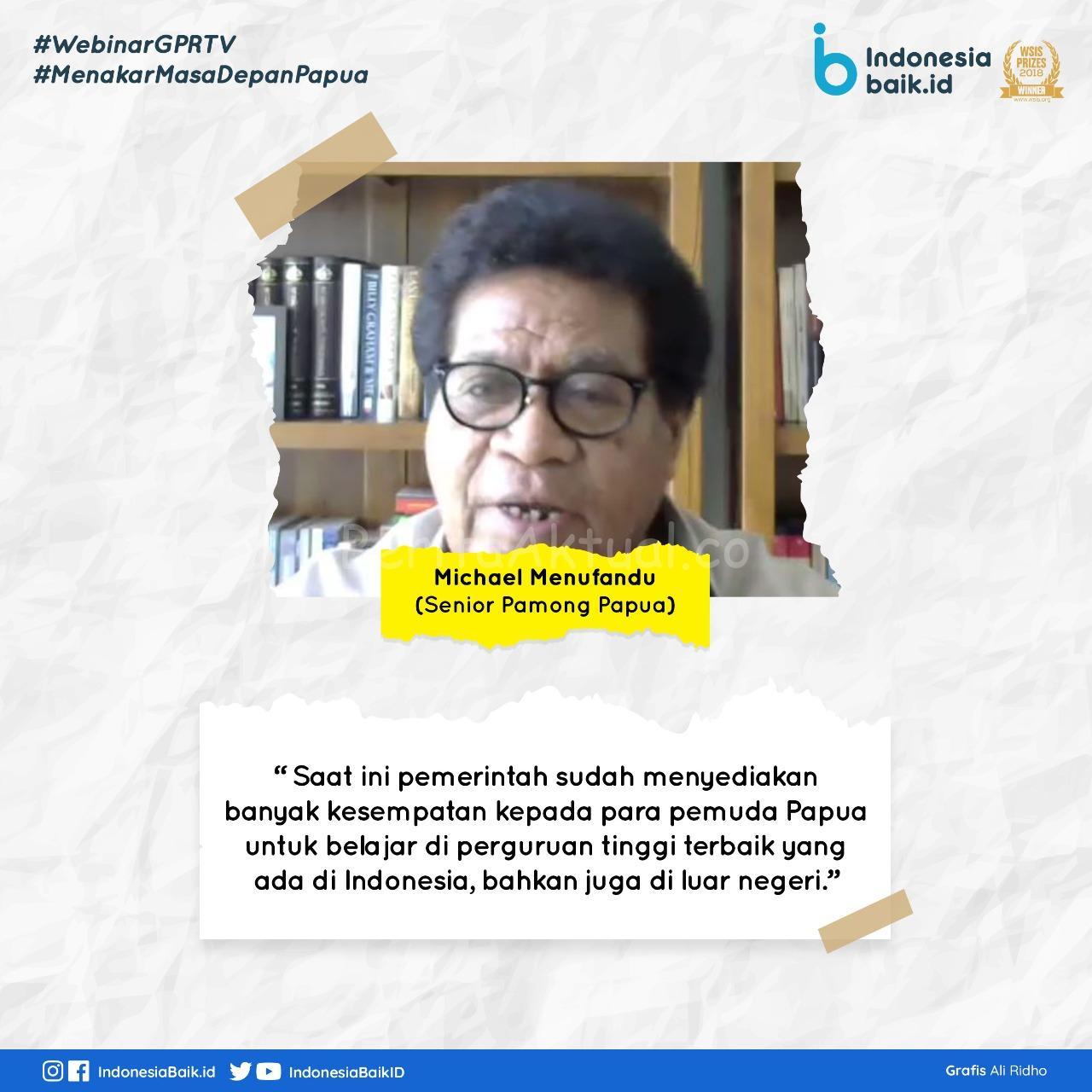 Akselerasi Pembangunan, Generasi Papua Bisa Jadi Pemimpin Besar Masa Mendatang 3 IMG 20200614 WA0117