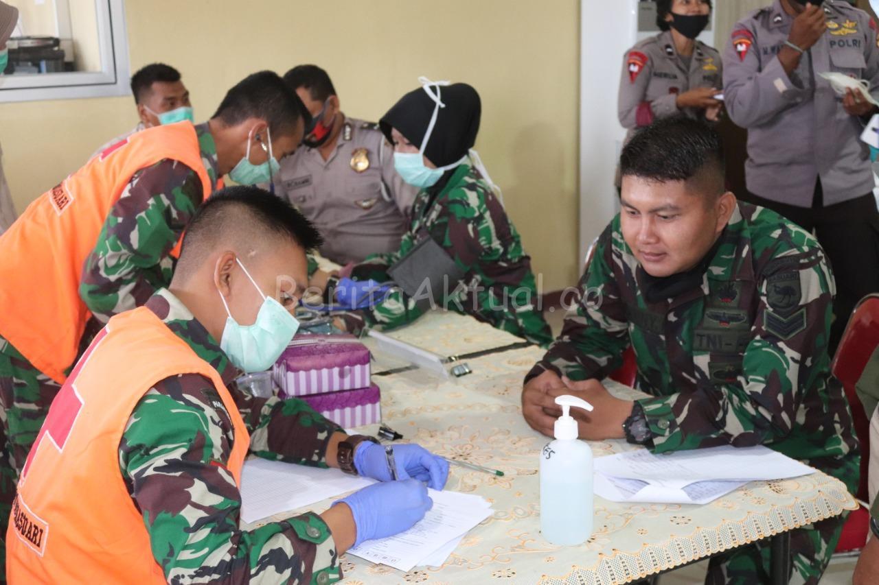Sambut HUT Bhayangkara ke 74, Polda Papua Barat Gelar Donor Darah 1 IMG 20200617 WA0024