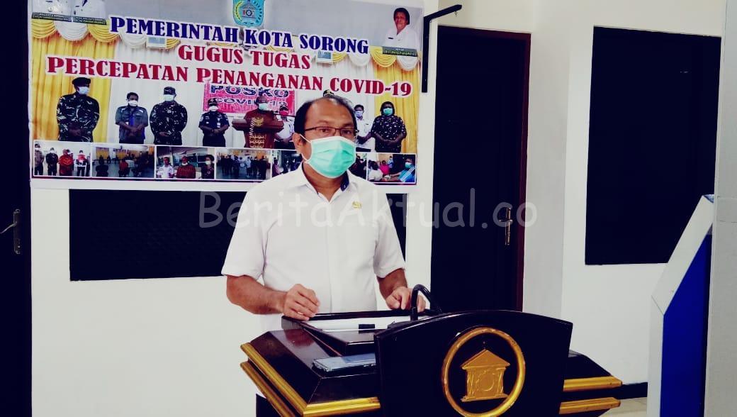 20 Pasien Covid-19 di Kota Sorong Dinyatakan Sembuh 10 IMG 20200618 WA0057
