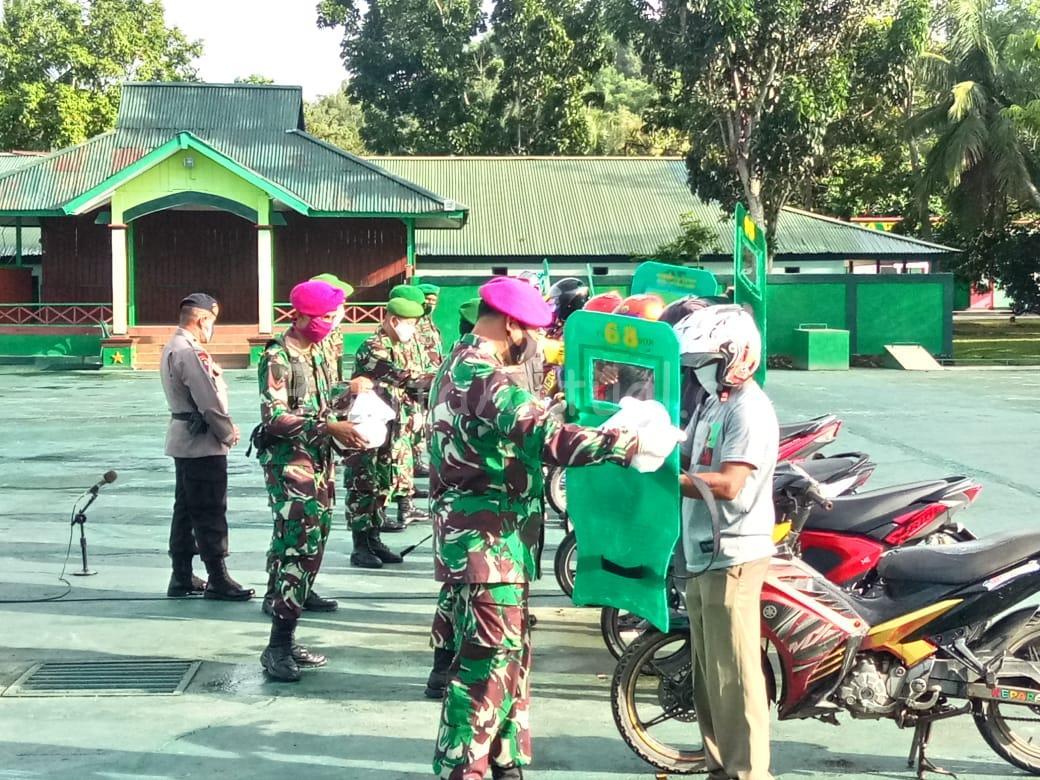 Tukang Ojek di Kota Sorong Dapat APD Dari Pangdam XVIII/Kasuari 4 IMG 20200624 WA0031