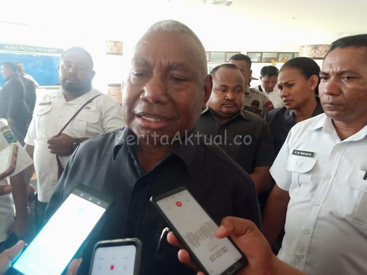 Dominggus Mandacan: Papua Barat Siap Pulangkan Warga Asal Papua 1 IMG 20200625 WA0021