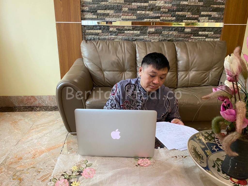 Rico Sia Desak LAPAN Beri Dukungan Bangun Peluncuran Satelit di Papua Barat 1 IMG 20200627 WA0011