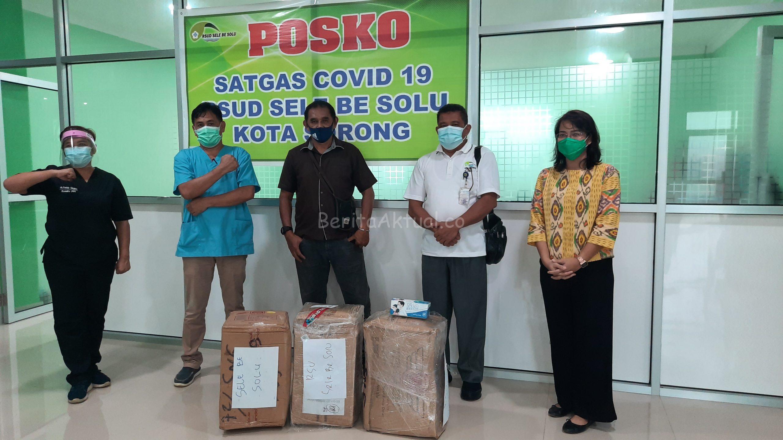 Ribuan APD Dari Robert Kardinal Untuk Tiga RS di Sorong Papua Barat di Distribusikan 3 20200703 150727 scaled