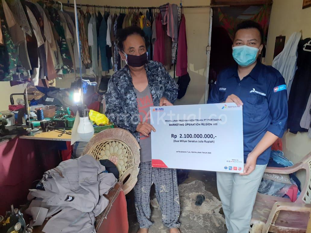 Pertamina Salurkan 2.1 Miliar Bantu Modal Usaha UMKM di Tual 2 IMG 20200701 WA0013