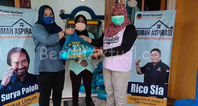 Sahabat Rico Sia Beri Bantuan Bapok Untuk Puluhan Wartawan di Kota Sorong 1 IMG 20200707 WA0022 compress99