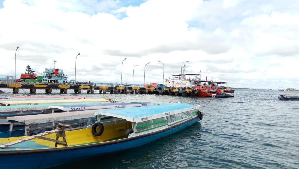 Penumpang Kapal Penyeberangan Sorong - Doom Wajib Pakai Life Jacket 4 IMG 20200713 WA0017
