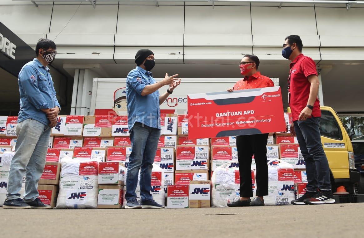 Bantu Masyarakat Hadapi Masa Pandemi, Telkomsel Salurkan Donasi 1 IMG 20200719 WA0008