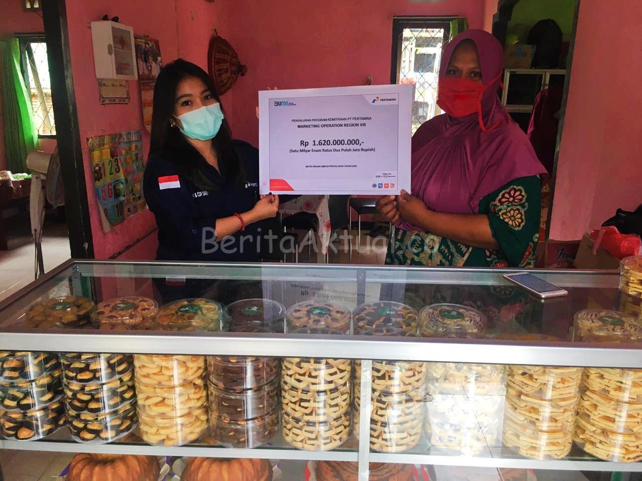 Pertamina MOR VIII Salurkan 1,62 Miliar Untuk 27 Mitra UMKM di Ambon 2 IMG 20200720 WA0019