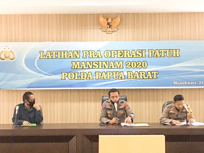 DitLantas Polda Papua Barat Latihan Pra Operasi Patuh Mansinam 1 IMG 20200722 WA0083