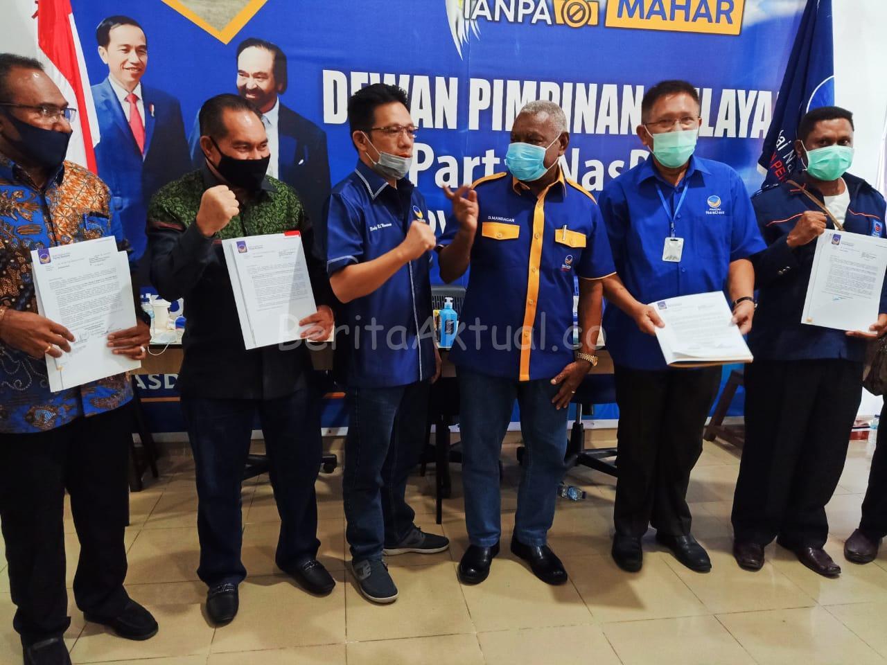 DPW Nasdem PB Beri Rekomendasi ke 5 Paslon Cabup-Cawabup Pilkada 2020 1 IMG 20200725 WA0081