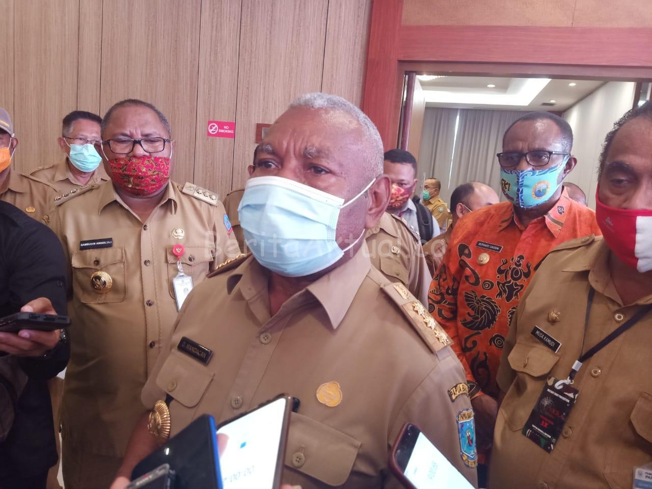 Gubernur PB Dan 13 Kepala Daerah Akan Temui MenPan-RB Minta Formasi CPNS 2019-2020 Utamakan OAP 4 IMG 20200803 WA0032