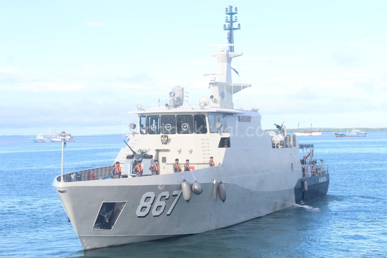 Gladi Tugas Tempur Koarmada III Sorong Libatkan 700 Prajurit Dan 5 Kapal Perang 1 IMG 20200808 WA0009