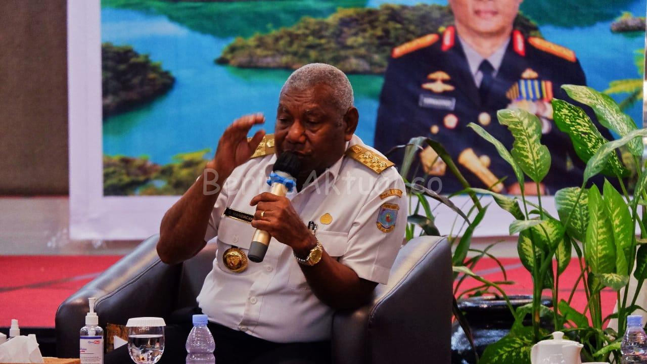 Gubernur Minta Pemuka Agama, Adat Dan Kepala Suku Ikut Serta Pastikan Pilkada Tetap Kondusif 5 IMG 20200812 WA0097